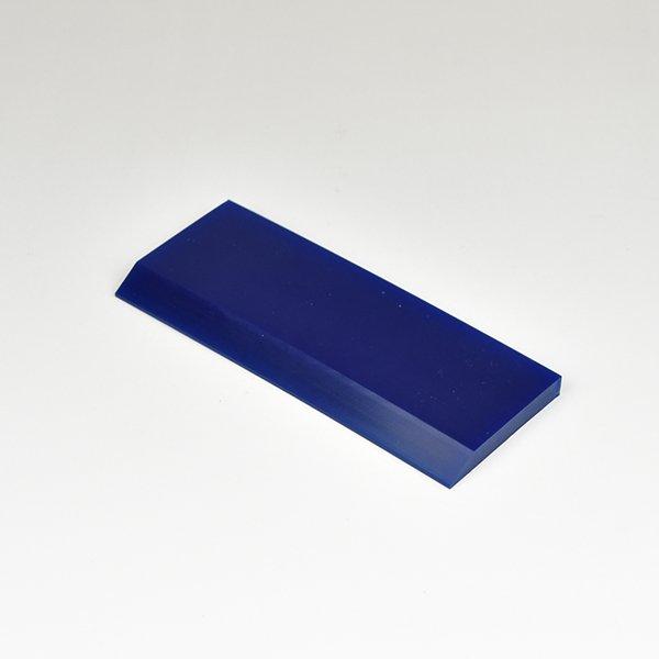 画像1: PRO-TINT ブルースキージ125mm ブレードのみ (125mmx50mmx6.5mmアングルエッジ) #PT Blue blade125mm only# (1)
