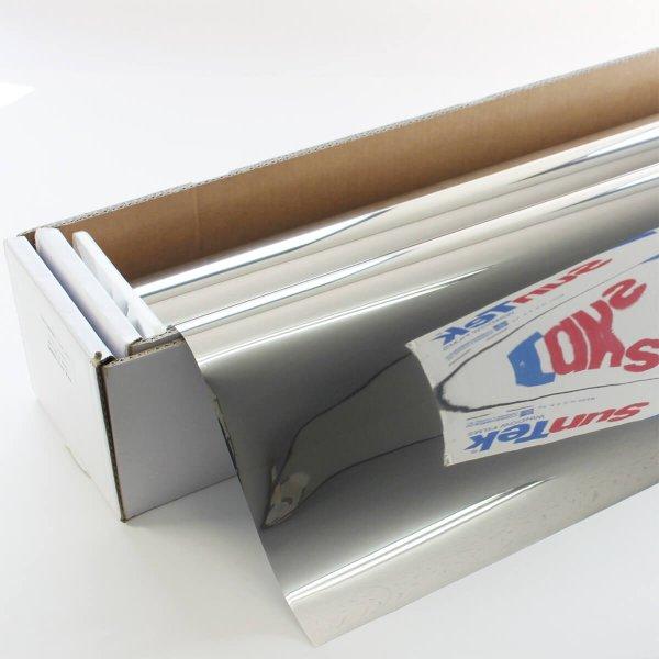 画像1: SunTek 外貼りシルバー20(15%) 幅広1.8m幅 x 30mロール箱売 ※大型商品 同梱不可 沖縄発送不可※ #SXT2072 Roll# (1)