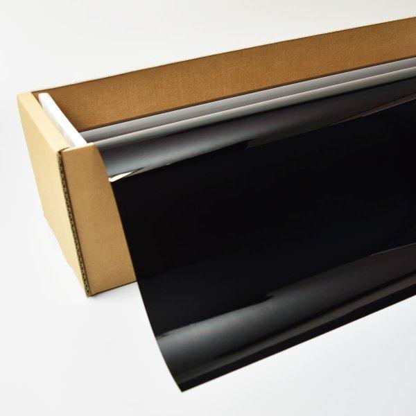 画像1: IR断熱ブラック01(1%) 1m幅 x 長さ1m単位切売 【シークレットブラックフィルム】 #IR-CBK0140C# (1)