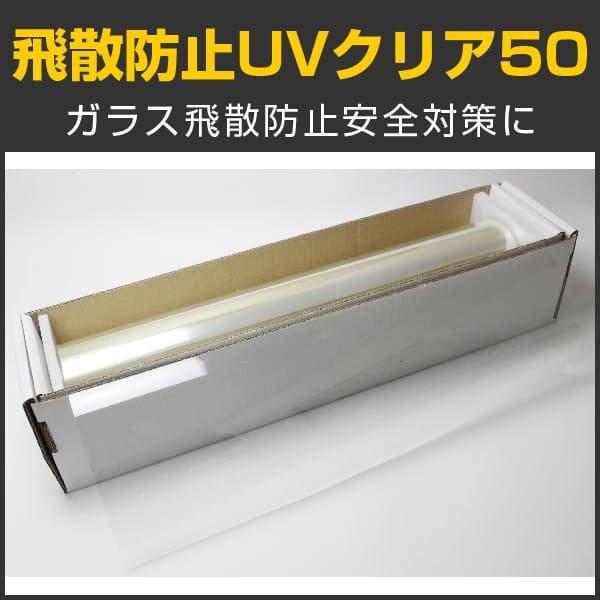 画像1: まとめ買い特価 SF2CL 飛散防止UVクリア50 ガラスフィルム 6本〜 大量購入 (輸出可 Export ok) (1)