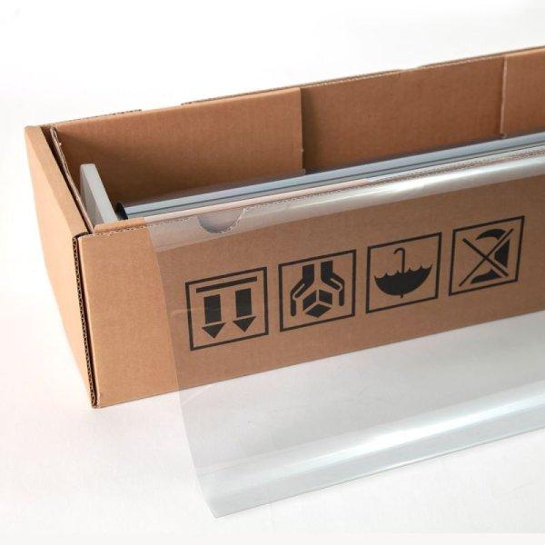 画像1: IR透明断熱80(79%) 1.5m幅 x 30mロール箱売 【IRフィルム 透明断熱フィルム】 ※大型商品 同梱不可 沖縄代引き不可※ #IR-80CL60 Roll# (1)